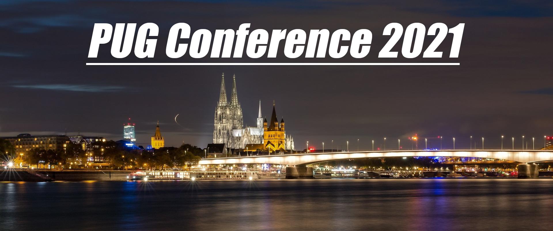 PUG Conference Header